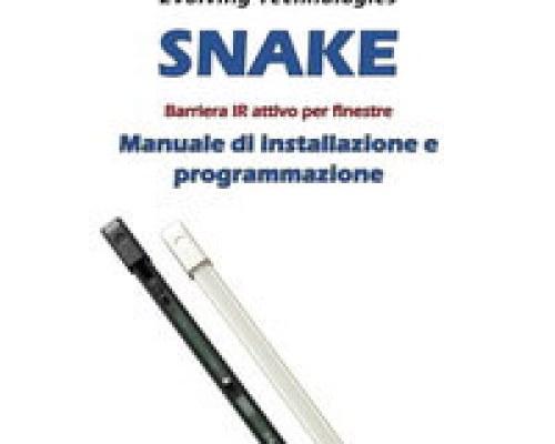 SNAKE – Manuale di installazione e programmazione