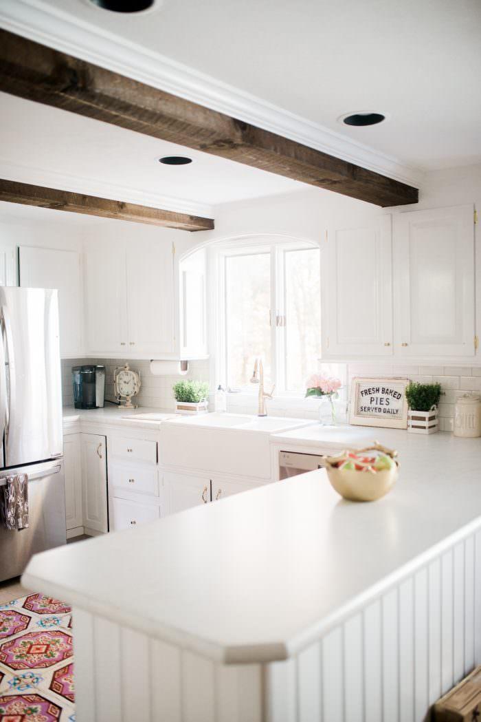 home depot kitchen tiles kidskraft farmhouse makeover
