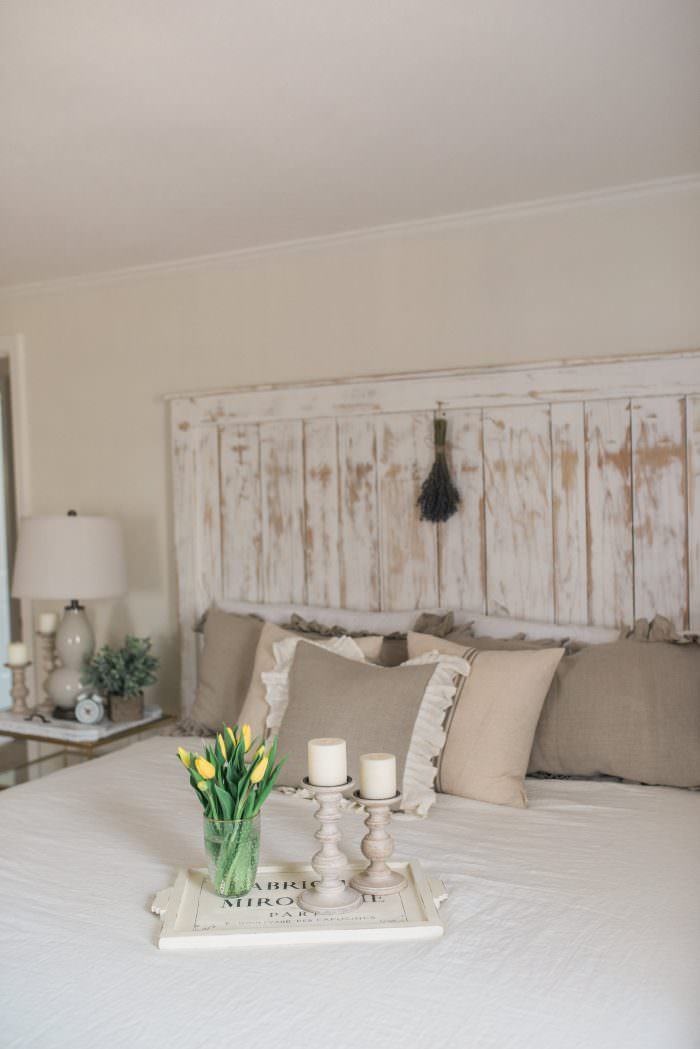 French Country Farmhouse Decor Our Bedroom Lynzy Amp Co