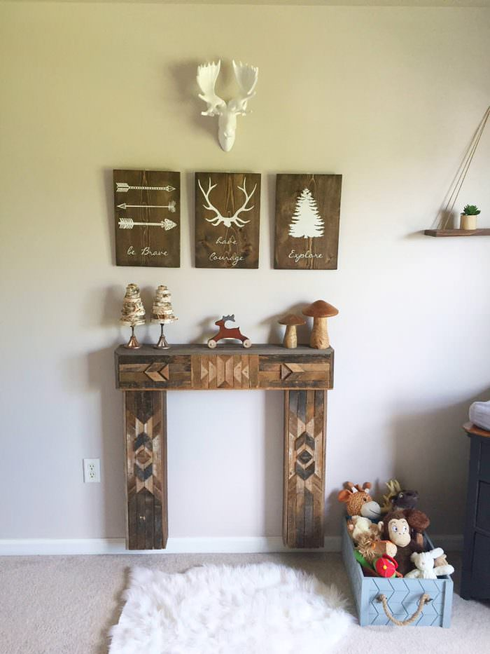 Rustic Woodland Nursery  Lynzy  Co