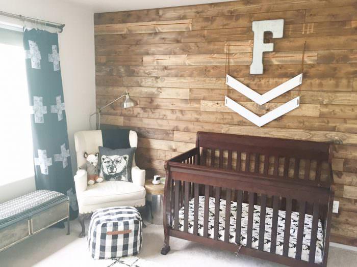 Rustic Woodland Nursery  Lynzy  Co
