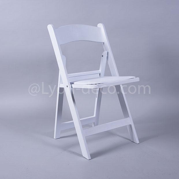 Location Chaise En Bois Blanc Idale Pour Votre Crmonie