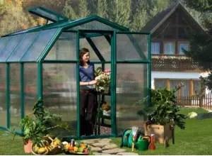 serre de jardin pvc alu polycarbonate