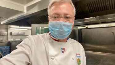 Christian Tetedoie s'installe aux cuisines du centre Léon Bérard