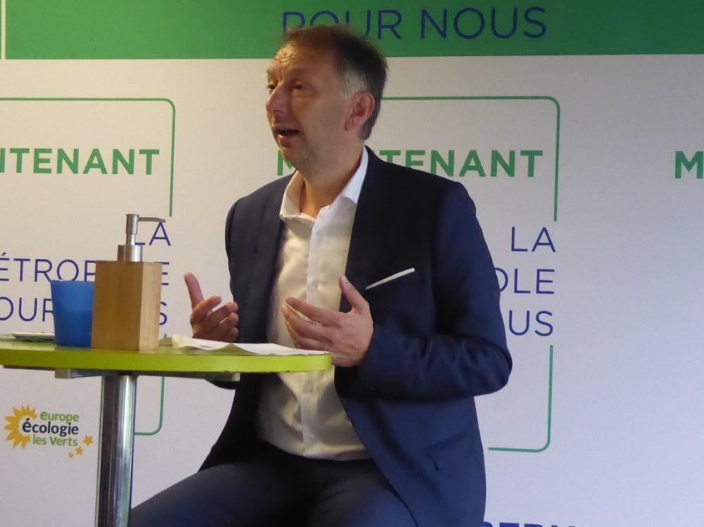 Bruno Bernard explique son programme économique pour la Métropole