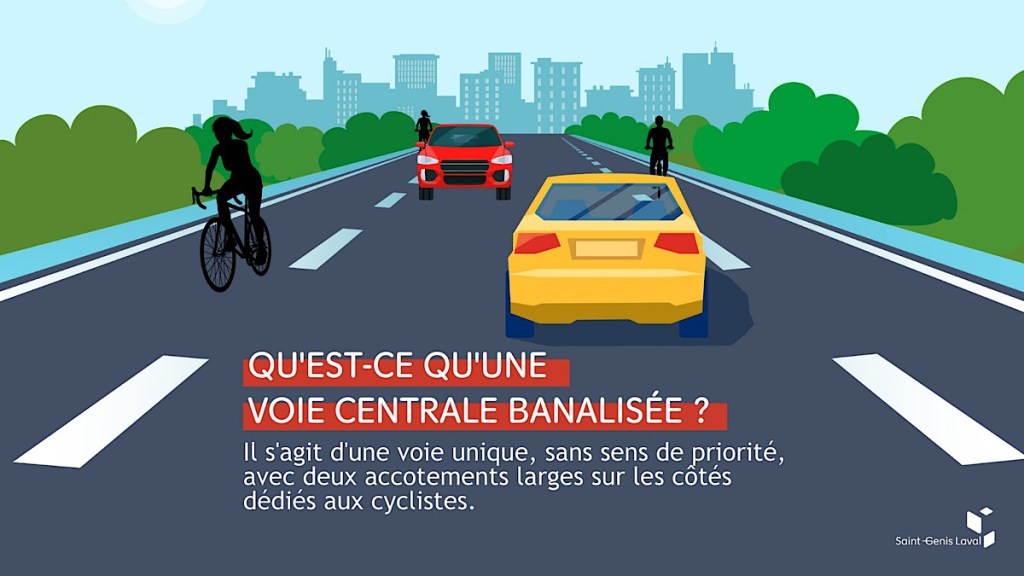 Chaucidou, Chaussée pour les Circulations Douces, existe dans le Code de la Route depuis 2015