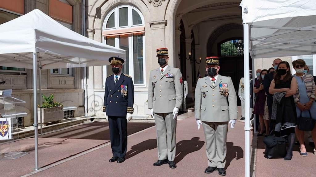 L'heure de la retraite pour Général Philippe Loïacono