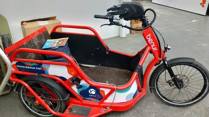 Benur permet aux personnes en situation de handicap de faire du vélo