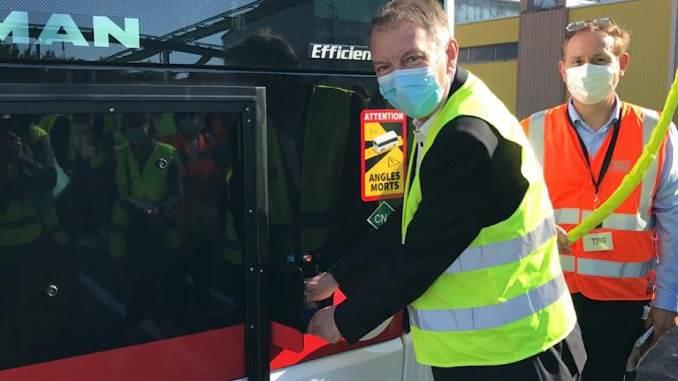 des bus 100% BioGNV dès la entrée sur le réseau TCL