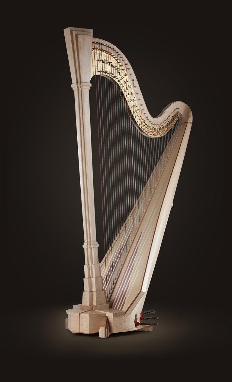 salzedo professional pedal harps