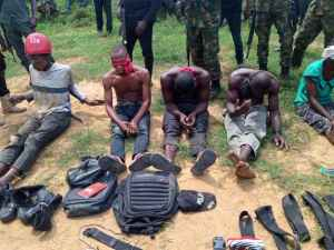 Troops kill 7 IPOB,ESN fighters and capture others
