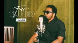 """Olamide Performs Medley of """"Rock"""" and """"Julie"""" for Audiomack 