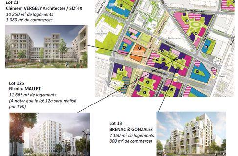 ZAC Des Girondins Les Architectes De Llot Nexity