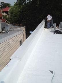 Roof Flashing On Parapet Walls