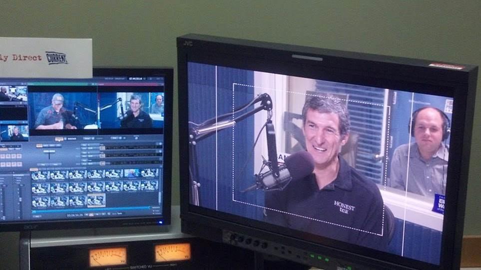 Honest Tea's Seth Goldman live in studio as part of national radio media tour.
