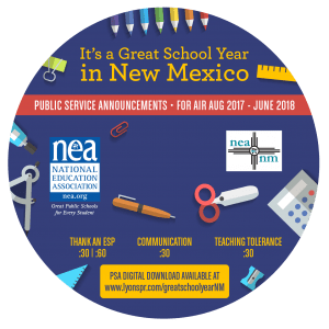 Back to School CD Label 2017 - New Mexico circle