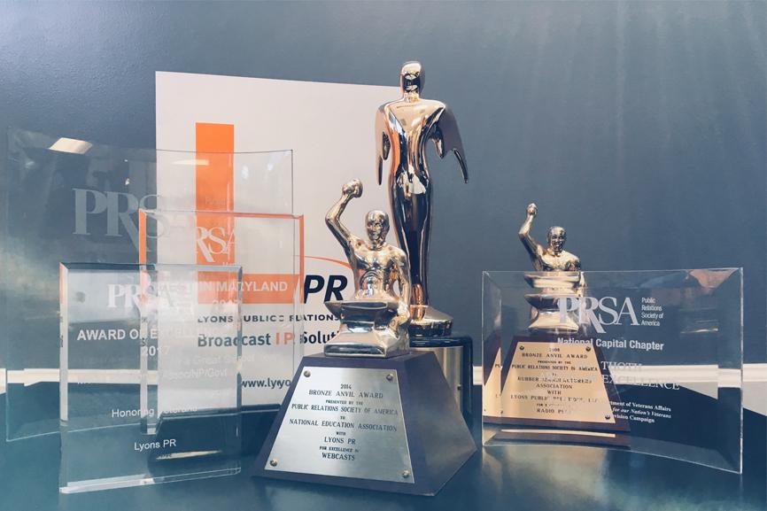 Lyons PR Awards pic