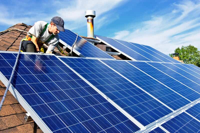 when reroofing your home with solar panels