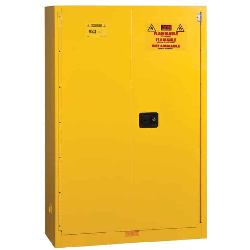 74R5445N Flammable Liquids Safety Storage Cabinet from Lyon