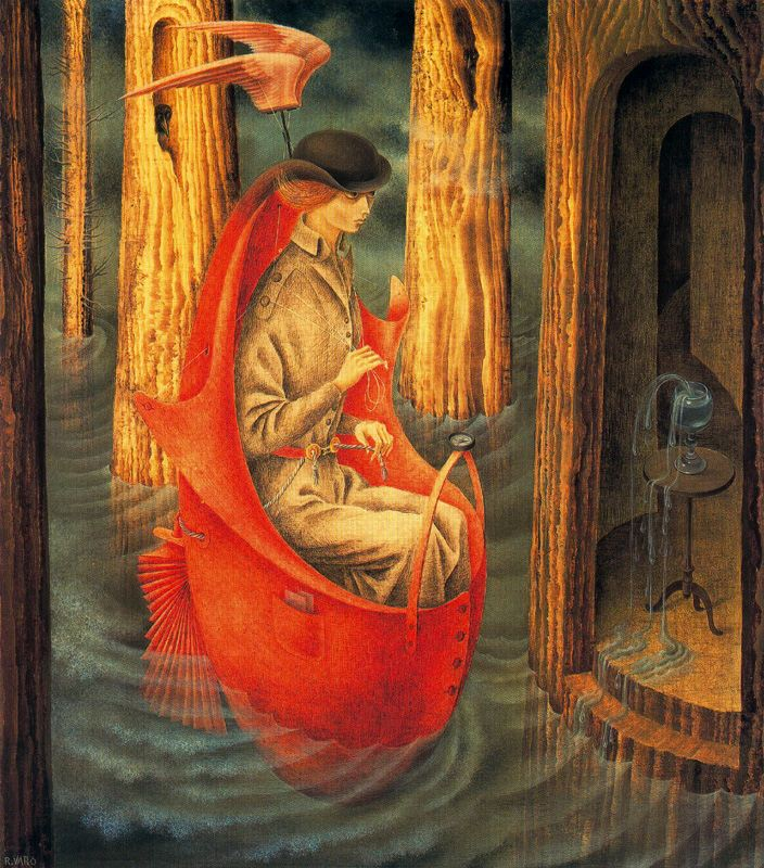 Remedios Varo's enigmatic paintings