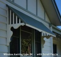 Window Canopies and Timber Window Awnings in Decorative ...
