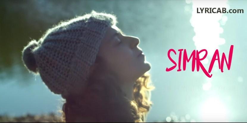 Simran Title Song lyrics