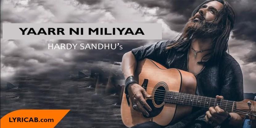 Yaarr Ni Miliyaa Song lyrics