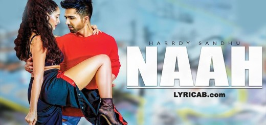 Naah song lyrics