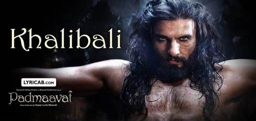 Khalibali song lyrics