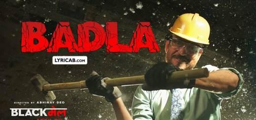 Badla song lyrics