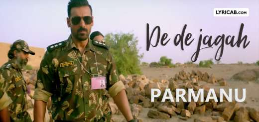 De De Jagah song lyrics