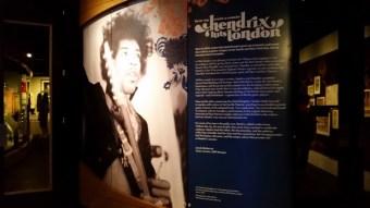 Jimi Hendrix exhibit sign