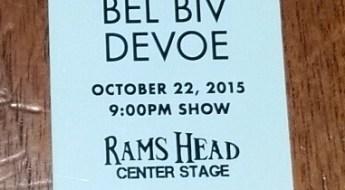 BBD ticket