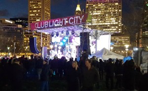 Stage at Light City