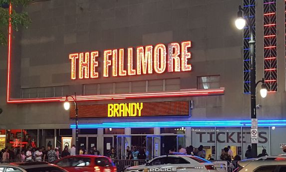 Brandy at The Fillmore in Maryland