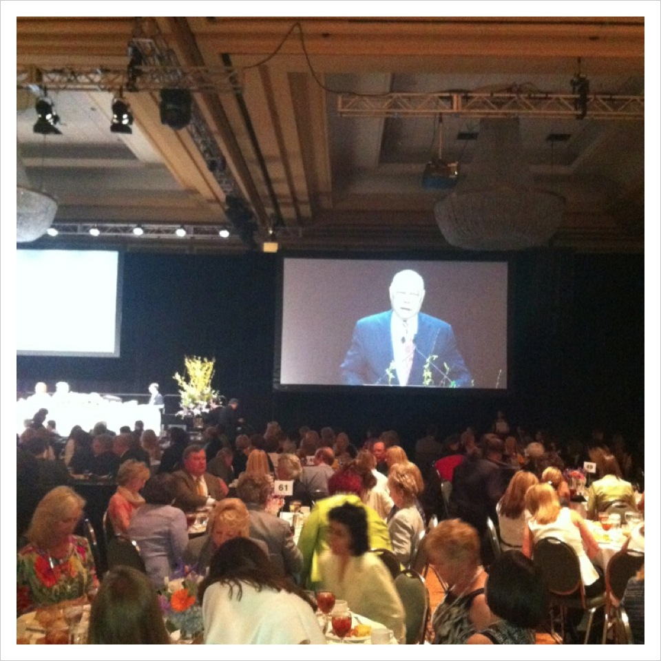 Collin Powell the key note speaker at the 2012 Genesis Women's Shelter Gala Luncheon