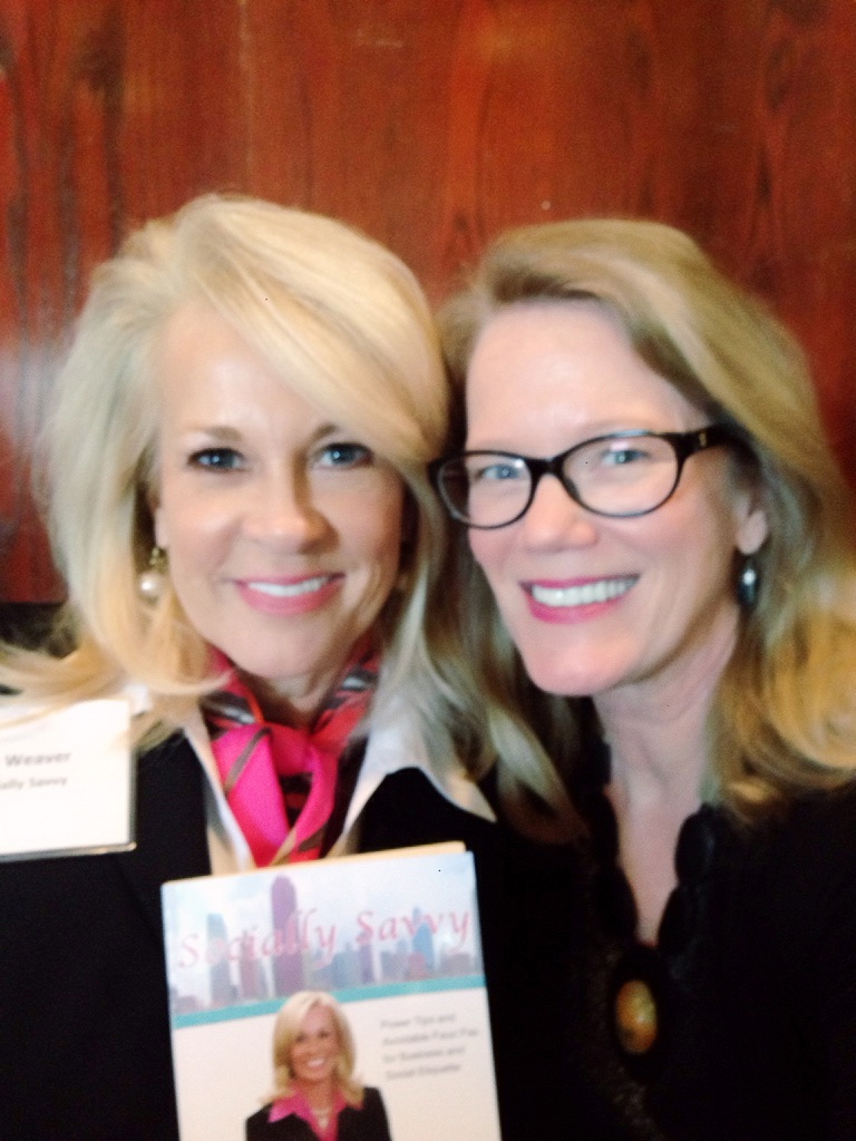Went to hear friend and author Joy Weaver speak in Plano