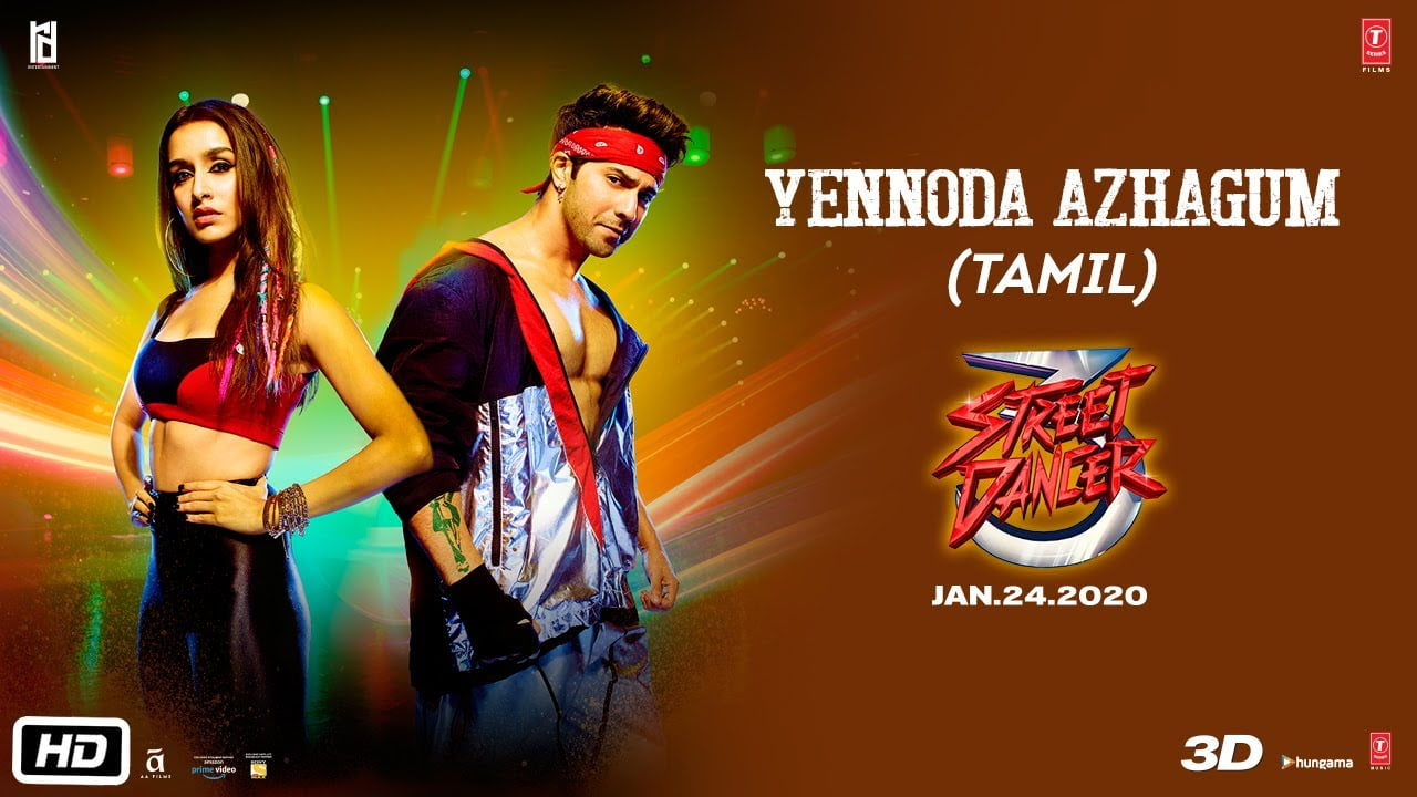 You are currently viewing Yennoda Azhagum Song Lyrics In English – Street Dancer 3D Tamil