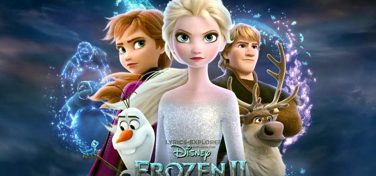 Frozen - Let It Go Lyrics in English