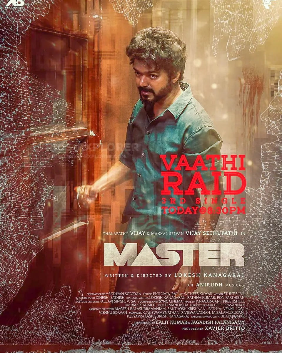 You are currently viewing Master 3rd Single Vaathi Raid