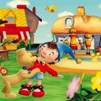 Noddy Hindi theme song lyrics in English