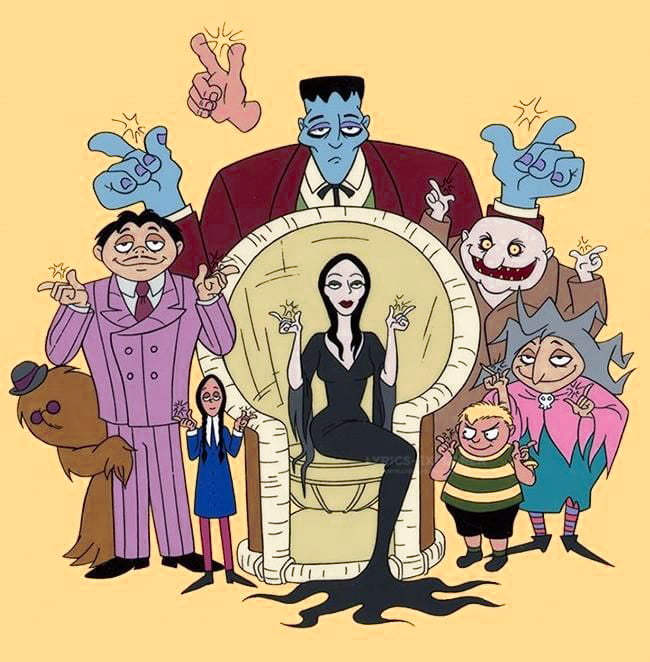 You are currently viewing The Addams family title song lyrics in English