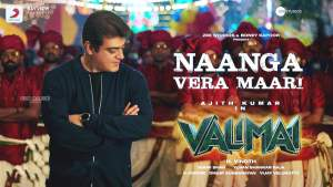 Read more about the article Naanga Vera Maari Lyrics in English – Valimai Song Lyrics Free download
