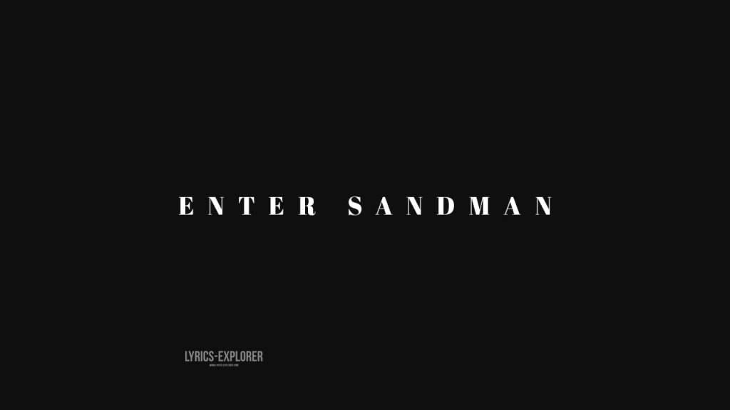enter-sandman-lyrics