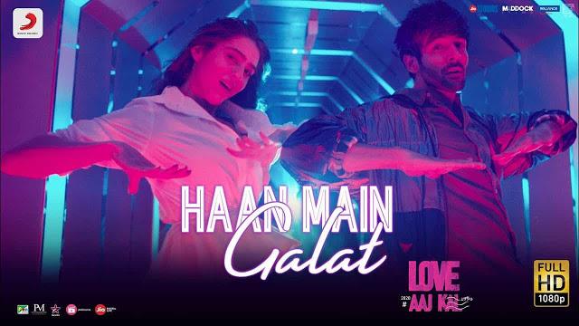 Haan Main Galat Lyrics in Hindi
