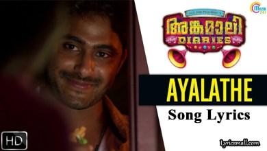 Photo of Ayalathe Penninte Ullil Song Lyrics | Angamaly Diaries Movie Songs Lyrics