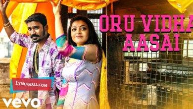 Photo of Oru Vidha Aasai Lyrics   Maari Tamil Movie Songs Lyircs