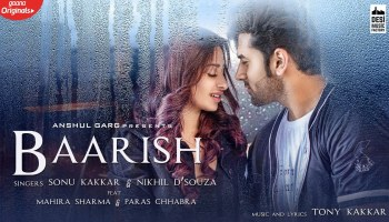 Baarish Lyrics - Sonu Kakkar | Mahira Sharma, Paras Chhabra, Nikhil D'Souza, Tony Kakkar