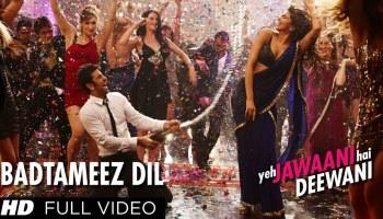 Badtameez Dil Lyrics - Yeh Jawaani Hai Deewani | Ranbir Kapoor, Deepika Padukone, Benny Dayal, Shefali Alvares