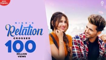 Relation Lyrics - Nikk   Mahira Sharma, Rox A
